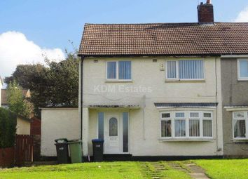 Thumbnail 3 bed semi-detached house to rent in Fairbairn Road, Peterlee