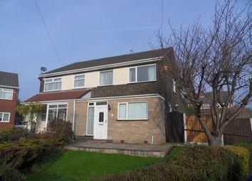 Thumbnail 3 bed semi-detached house for sale in Burton Close, Rainhill, Prescot
