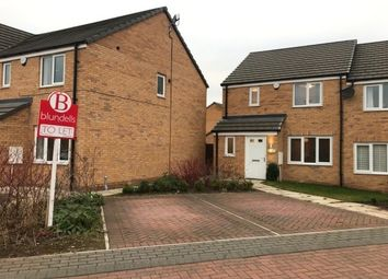 Thumbnail 3 bedroom semi-detached house to rent in Sparrowhawk Way, Rotherham