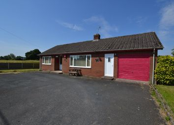 Thumbnail 2 bed detached bungalow for sale in Wood Lane, Hinstock, Market Drayton