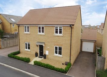 Thumbnail 4 bedroom detached house for sale in Creed Road, Oundle, Peterborough