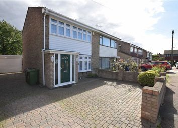 Thumbnail 3 bed semi-detached house for sale in Trent, East Tilbury, Essex