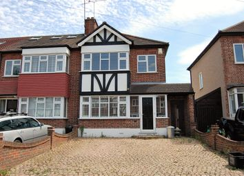 Thumbnail 3 bedroom end terrace house to rent in Glastonbury Avenue, Woodford Green