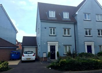 Thumbnail 3 bedroom semi-detached house to rent in Meadow Crescent, Purdis Farm, Ipswich