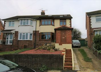 Thumbnail 4 bed semi-detached house for sale in Rolvenden Road, Wainscott, Rochester, Kent