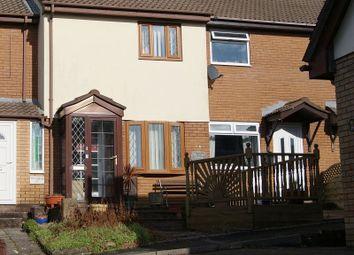 Thumbnail 2 bed terraced house to rent in Fairoak Chase, Brackla, Bridgend.