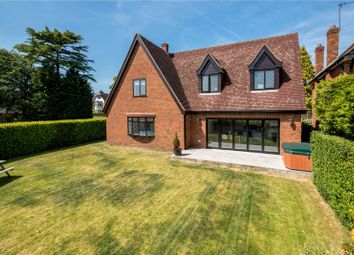 Thumbnail 5 bed detached house for sale in Pyrford Road, West Byfleet, Surrey