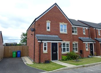 Thumbnail 3 bed semi-detached house for sale in Mayflower Gardens, Wardle, Rochdale, Greater Manchester