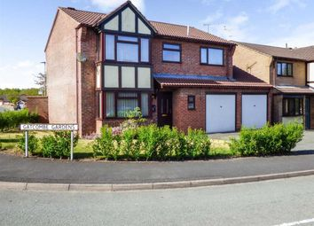 Thumbnail 4 bed detached house for sale in Gatcombe Gardens, Oswestry