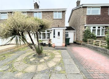 Thumbnail 3 bed semi-detached house for sale in Ruston Close, Swadlincote