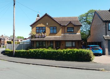 Thumbnail 3 bed detached house for sale in Kennedy Road, Trentham, Stoke-On-Trent