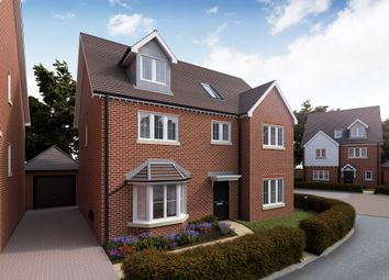 Thumbnail 5 bed detached house for sale in Cambridge Road, Quendon