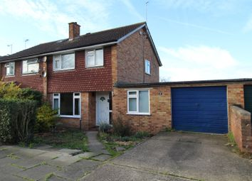 Thumbnail 4 bed semi-detached house for sale in Tees Way, Bletchley
