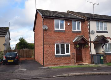 Thumbnail 3 bed semi-detached house to rent in Wye Dale, Church Gresley, Swadlincote