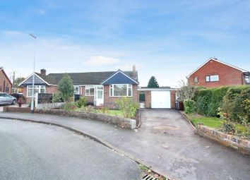 Thumbnail 2 bed semi-detached bungalow for sale in Oakdene Close, Blythe Bridge, Stoke-On-Trent