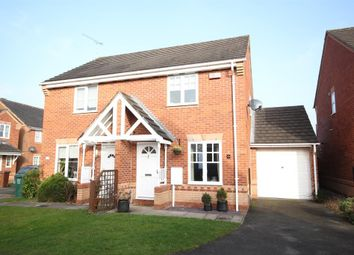 Thumbnail 2 bedroom semi-detached house to rent in Sherman Close, Hilton, Derby
