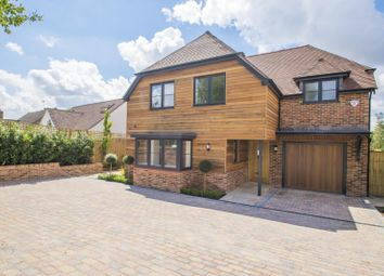 Thumbnail 4 bed detached house for sale in Wallingford Road, South Stoke