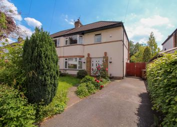 Thumbnail 3 bedroom semi-detached house for sale in Central Drive, Bramhall, Stockport
