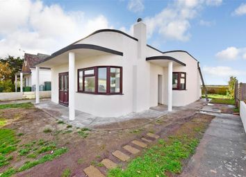 Thumbnail 3 bed detached bungalow for sale in Leonard Road, Greatstone, New Romney, Kent