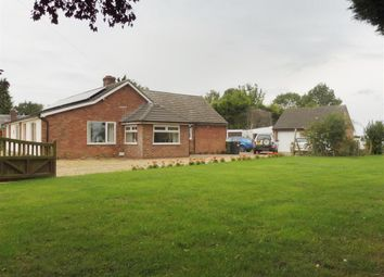 Thumbnail 4 bed detached bungalow for sale in Hill Road, Spooner Row, Wymondham