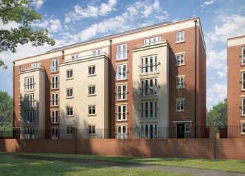 Thumbnail 2 bedroom flat for sale in St James Park Road, Northampton