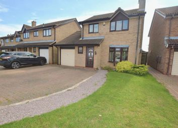 Thumbnail 3 bedroom detached house for sale in Keswick Close, Peterborough