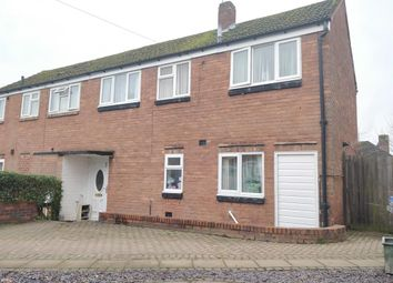Thumbnail 3 bed end terrace house to rent in Pipers Croft, Lichfield