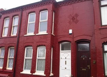 Thumbnail 2 bedroom terraced house to rent in Shakespeare Street, Bootle