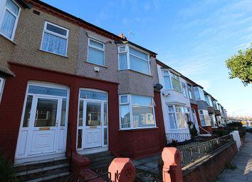Thumbnail 3 bedroom terraced house to rent in Singleton Avenue, Birkenhead, Merseyside