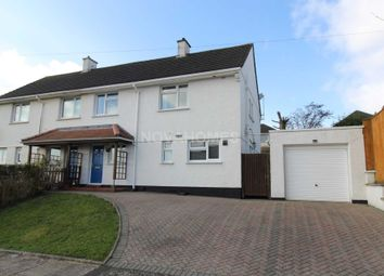 Thumbnail 3 bed semi-detached house for sale in Compton Avenue, Plymouth