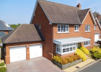 Thumbnail 5 bed detached house for sale in Woodlands Drive, Wychwood Park, Weston