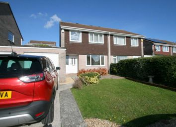 Thumbnail 3 bed semi-detached house for sale in Hareston Close, Plymouth