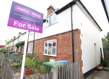Thumbnail 2 bed end terrace house for sale in Douglas Road, Esher