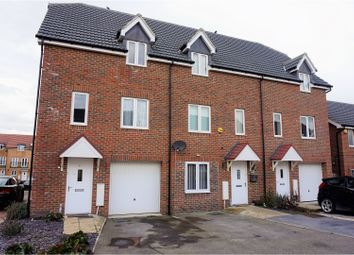 Thumbnail 3 bed town house for sale in Petunia Avenue, Sheerness