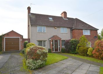 Thumbnail 3 bed semi-detached house for sale in Hunloke Avenue, Chesterfield