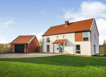 Thumbnail 4 bed detached house for sale in Archers View, Erpingham, Norwich
