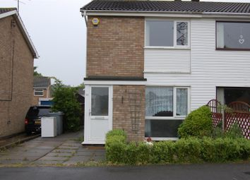 Thumbnail 2 bed semi-detached house to rent in Scotney Drive, Grantham