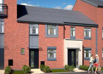 Thumbnail 3 bed town house for sale in The Tiverton - Plot 417, Johnsons Wharf, Leek Road, Hanley, Stoke On Trent