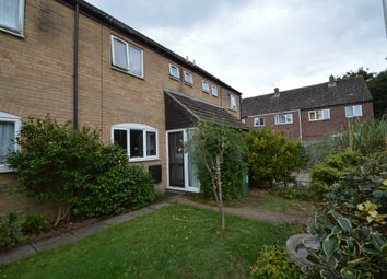 Thumbnail 2 bed terraced house for sale in Poplar Close, New Costessey, Norwich