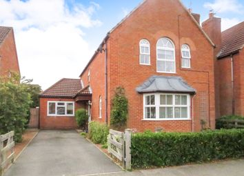 Thumbnail 4 bed detached house for sale in Canterbury Road, Bracebridge Heath, Lincoln