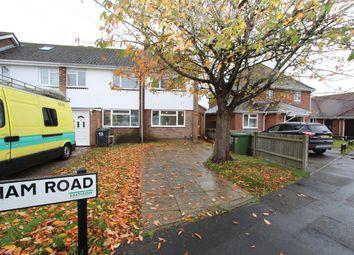 Thumbnail 1 bed semi-detached house to rent in Wykeham Road, Netley Abbey, Southampton