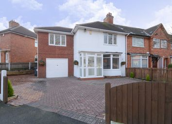 Thumbnail 4 bed end terrace house for sale in Lockton Road, Stirchley, Birmingham