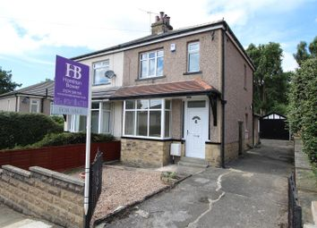 Thumbnail 3 bed semi-detached house for sale in Poplar Grove, Shipley