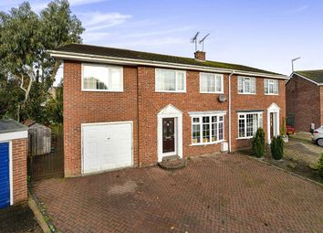 Thumbnail 5 bed semi-detached house for sale in Willow Court, Cranswick, Driffield
