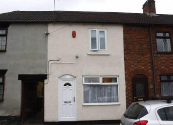 Thumbnail 2 bed terraced house for sale in Tutbury Road, Horninglow, Burton-On-Trent