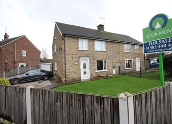 Thumbnail 3 bed semi-detached house for sale in Oxford Drive, Harworth, Doncaster