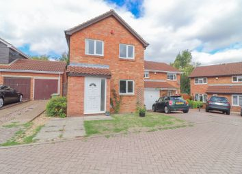 Thumbnail 3 bed detached house for sale in Byward Close, Milton Keynes