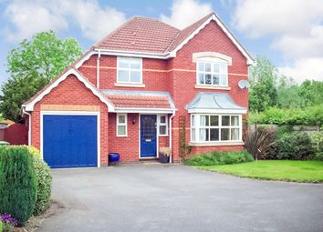 Thumbnail 4 bed detached house to rent in Fallow Close, Broughton Astley, Leicester, Leicestershire