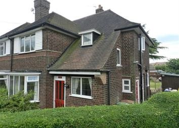 Thumbnail 3 bedroom semi-detached house to rent in Spinney Crescent, Toton, Beeston, Nottingham