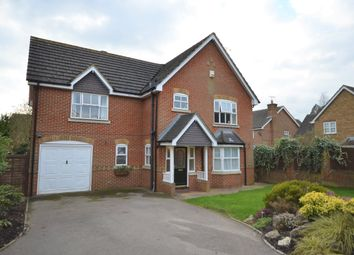 Thumbnail 4 bed detached house for sale in Ayjay Close, Aldershot, Hampshire